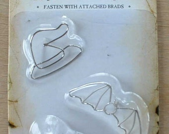 Karen Foster Wired Brads - Word Brads - Decorative Brads - Scrapbook Brads