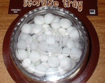 Chalklets Storage Tray with Puffs