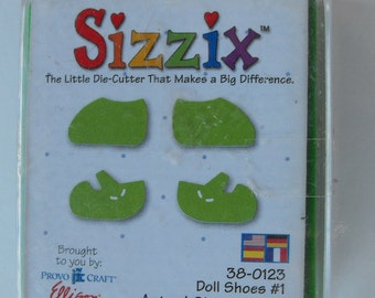 Sizzix Doll Shoes 1 Die