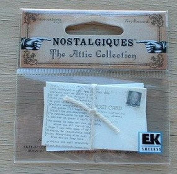 Nostalgiques Tiny Postcards