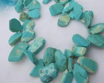 Turquoise Smooth Nuggets