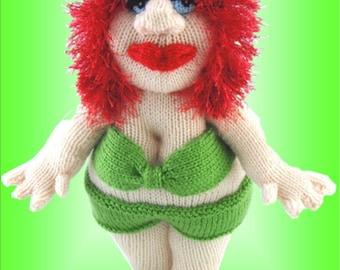 Lady Beryl Lotz - a unique knitting pattern - PDF format