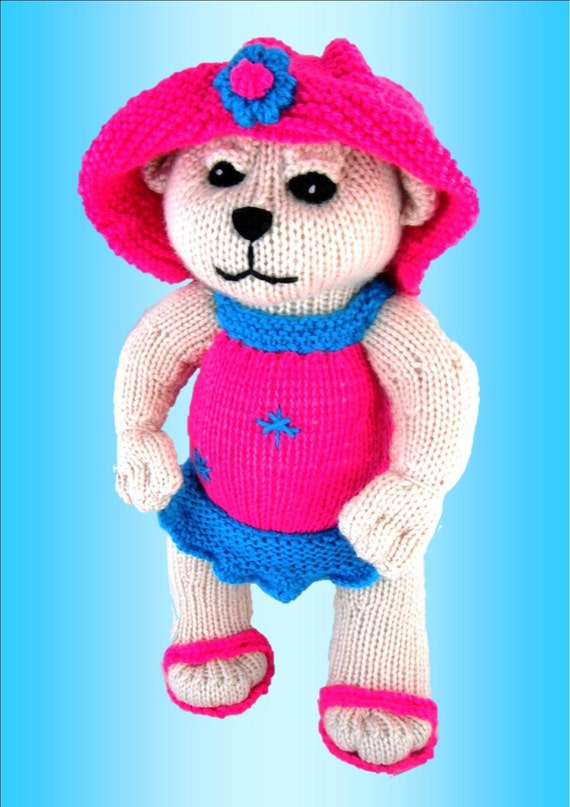 Jesse Bear - Unique and  Original Knitting Pattern