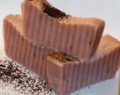 Black Tea cold process soap