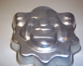 Vintage Bozo Wilton Cake Pan from 1974.  Retired piece. REDUCED PRICE