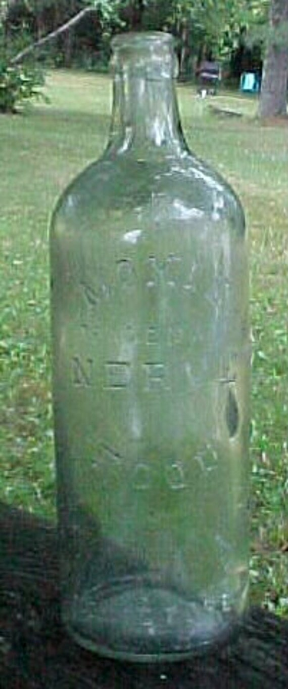 C1900 Moxie Nerve Food Lowell Mass Pale Green By