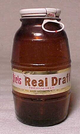 1974 Piels Real Draft Premium Beer Brooklyn N Y Amber