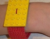 1 lego birthday party favor activity game wristband