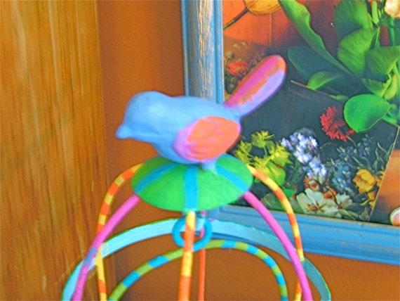 Take 20% Off Iron Bird CAGE & Hanging NEST Home Decor