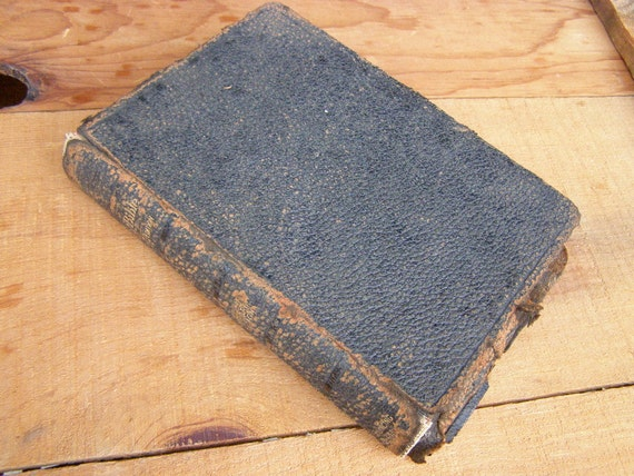 1901 Holy Bible Teachers Edition with The Concise Bible Dictionary