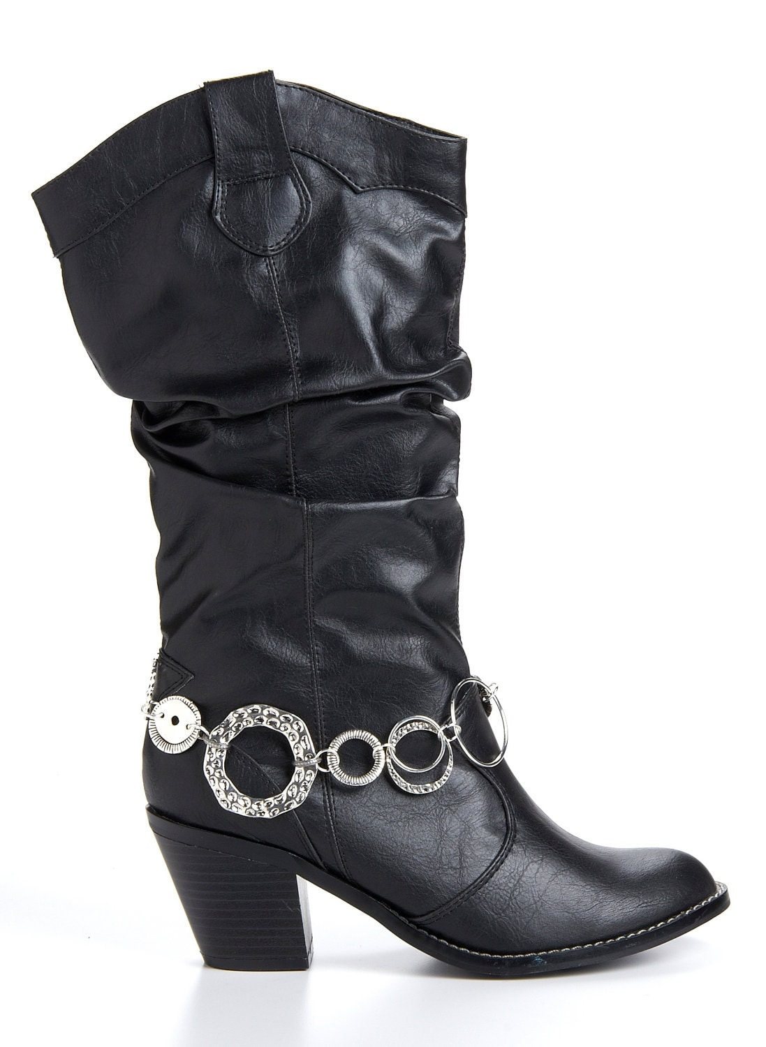 sassy hoops boot bling jewelry accent to your boots boot