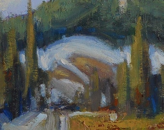 Oregon's Strawberry Mountains Wilderness is subject of oil painting