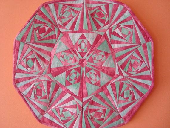 Mandala A 1 Star Paper Pieced Quilt Pattern Pdf