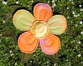 """Flower Pillow in cotton """"Ebe"""""""
