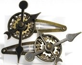 The Clock Meister's Hairclips