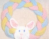 Crochet Easter Wreath