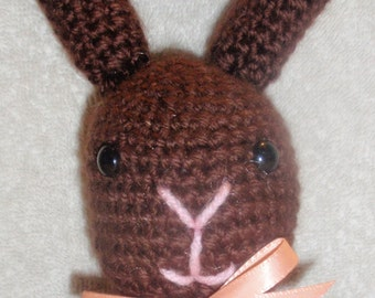 Crochet Chocolate Easter Bunny