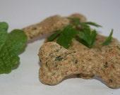 Woof Mint. Organic Treats to Freshen your Dog's Breath