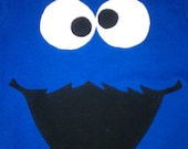 Cookie Monster Shirt- Great for Birthdays