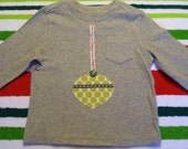 Sale- Modern Christmas Ornament Shirt Ready to Ship - torilynn817