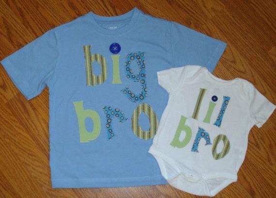 Big/ Lil Bro Sibling Shirt Pair