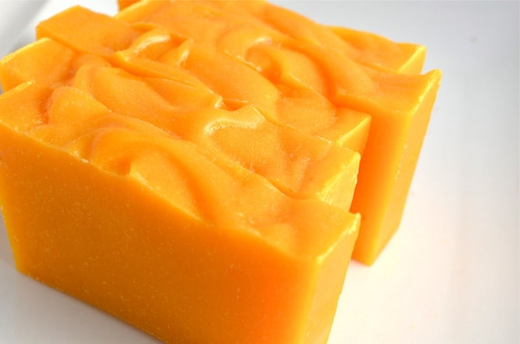 Kumquat Tangerine Juice Vegan Olive Oil Soap by TheOriginalSoapStand on Etsy