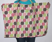 INSTANT DOWNLOAD Nursing Cover with 2 neck strap styles and optional pocket PDF Sewing Pattern