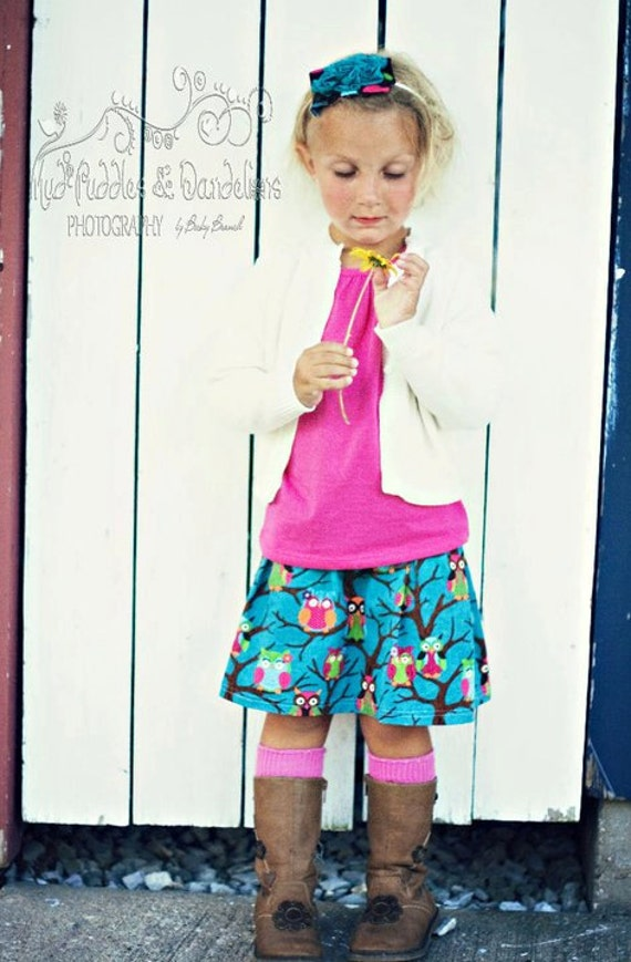 INSTANT DOWNLOAD Ava Pleated Skirt PDF Sewing Pattern By Hadley Grace Designs - Includes Sizes Newborn up to 14