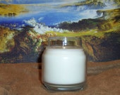 BenEssence scented soy candle in 4 oz container