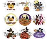 Disney Halloween Bottle Cap Images
