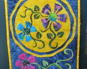 Colorful Wallhanging-Night Flight No 1