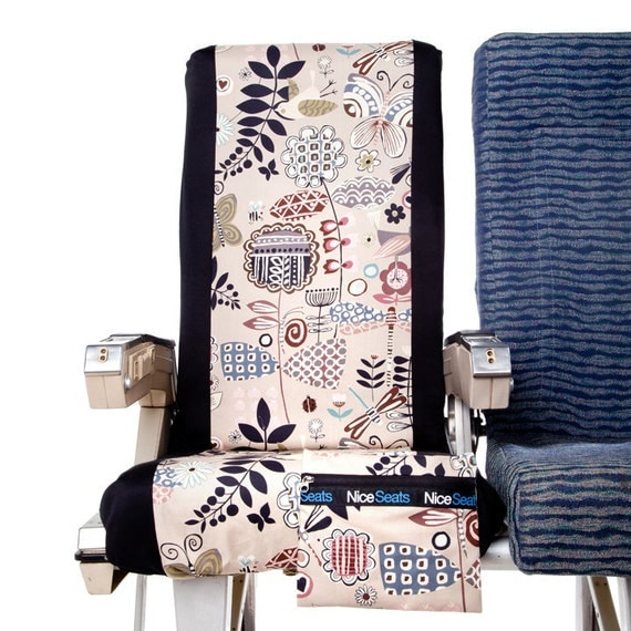 Abstract by Nature- Airplane Seat Cover by Nice Seats