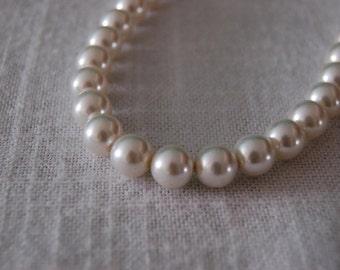 Vintage Pearl Necklace - Bridal - Wedding - Bridesmaids - 1950s - Made in Japan