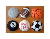 In The Hoop Sportsball bean Bag Set For Embroidery Machines