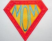MOM in diamond embroidery machine design