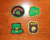 St.Patricks Day Felt Pieces Designs for Embroidery Machines