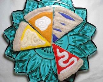 Felt Pies Machine Embroidery Design