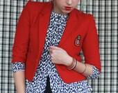 Red Childrens Sized Blazer