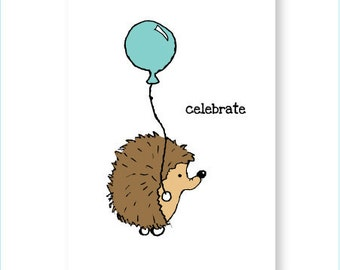 Celebrate - Eco Friendly Greeting Card