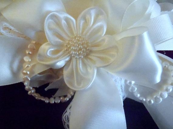 Bridal Gown Hanger, ivory, white, lovely and elegant