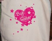 Big Sister Bag - Kids Tote - Made in USA - Gift Friendly