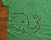 Kids Shirt - Elephant Shirt - Girls Shirt Boys Tshirt - 7 Colors Available - Sizes 2T, 4T, 6, 8, 10, 12 - Gift Friendly