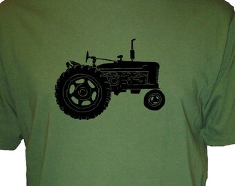Farm Shirt - Tractor T Shirt - Mens Organic TShirt - Gift Friendly
