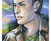 Dean Winchester - PRINT - ACEO