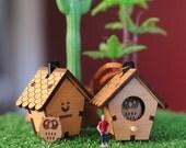 3D Birdhouse Necklace