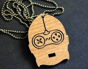C3PO VS Old School Game Controller