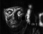 Man - 'Miner Circumstance' - 5 x 7