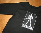 Star Wars Stormtrooper Long Sleeve Black Tee Shirt