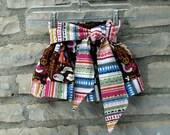 Big Tie Twirl Skirt PDF Pattern
