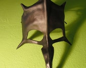 Long  Nose Black Witch Mask